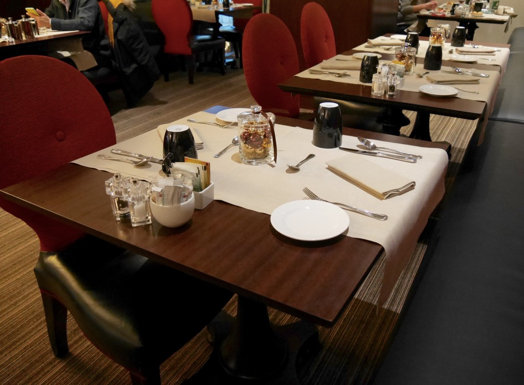 restaurant Marriott Champs Elysées