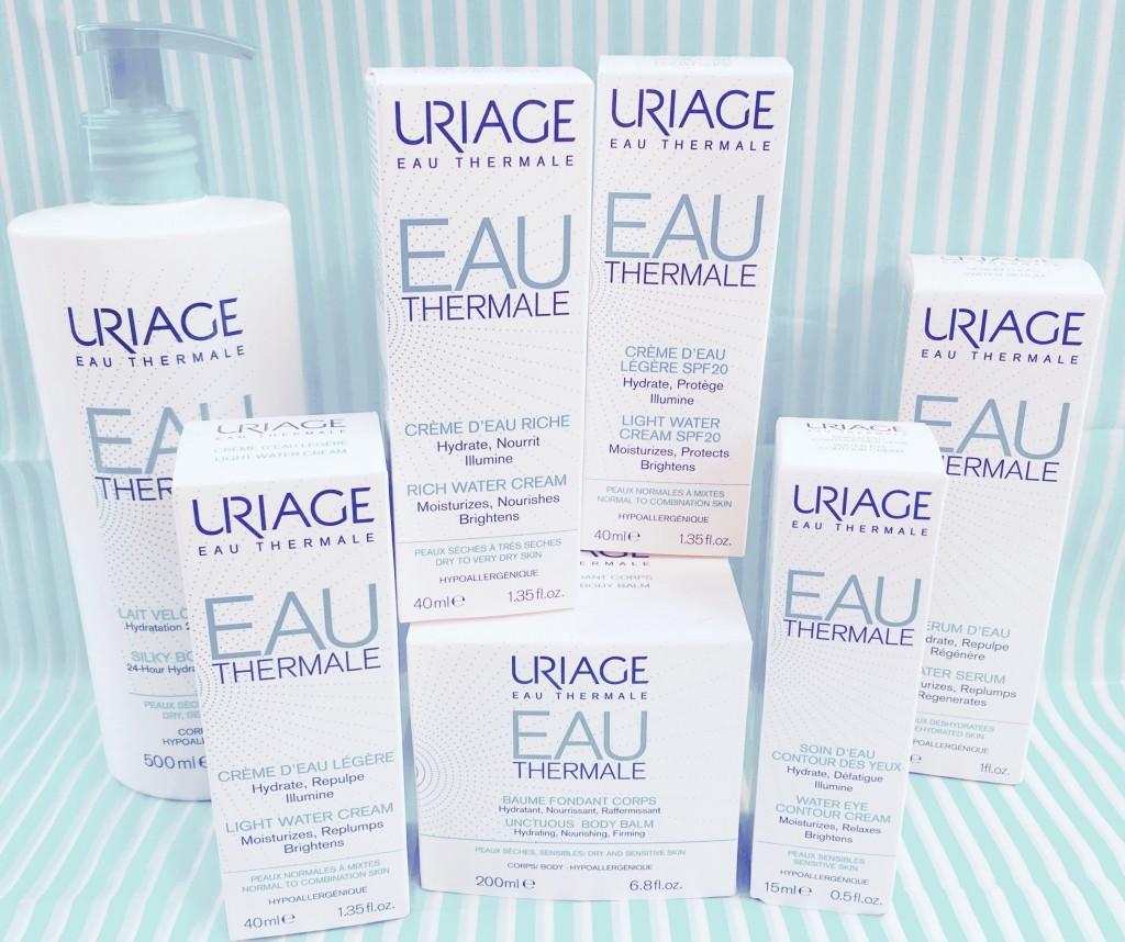 produits soins d'eau Uriage